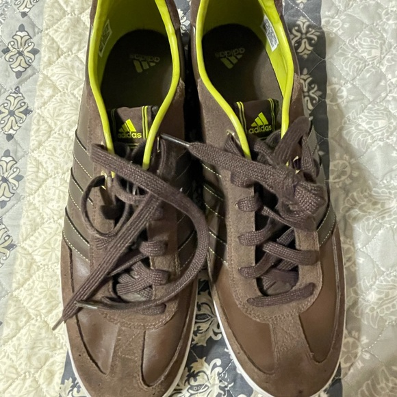 Adidas Sneakers Men's brown green Shoes US Size 13